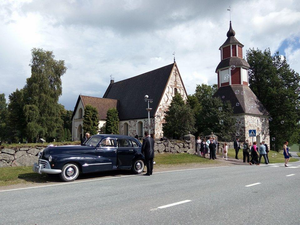 Oldsmobil vm 1946 tilattavissa. Kuva Tiina Nieminen